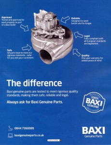 Baxi Genuine Spare Parts