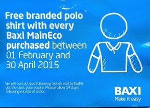Baxi Maineco Polo Shirt